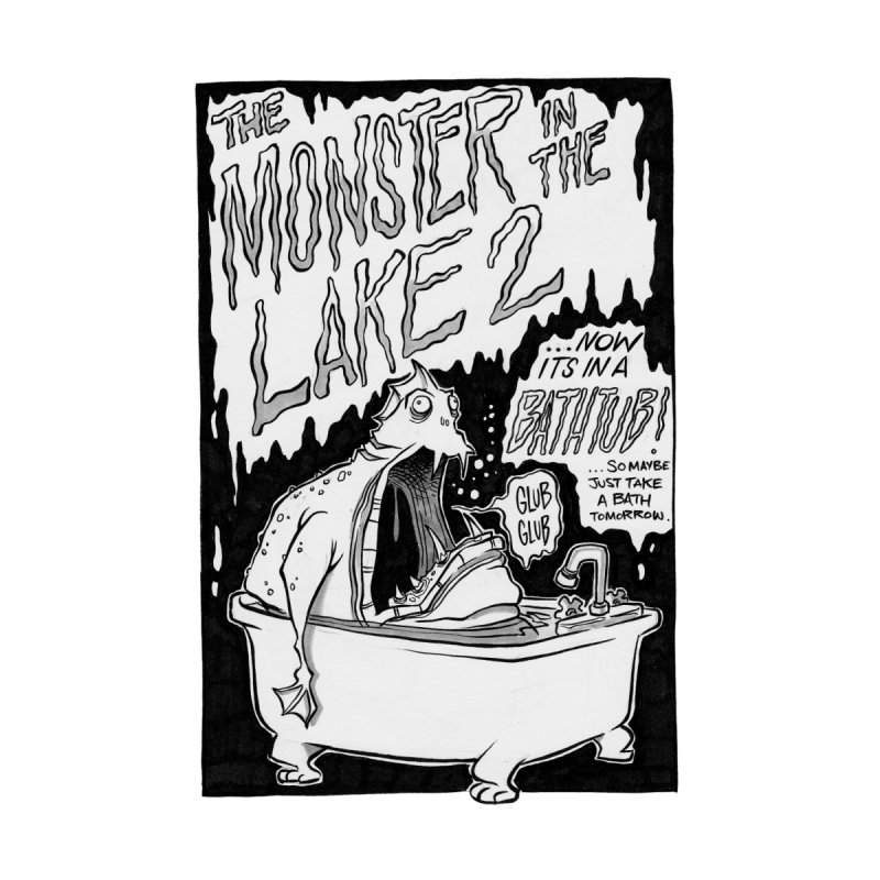 Monster in the Lake 2 Women's Unisex T-Shirt by westinchurch's Artist Shop