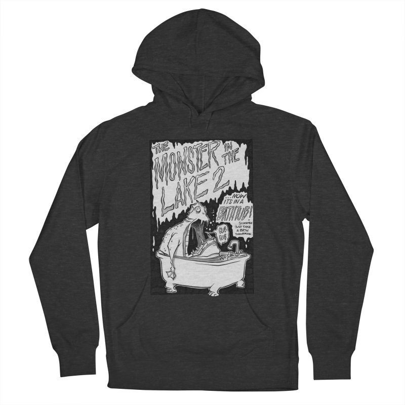 Monster in the Lake 2 Women's Pullover Hoody by westinchurch's Artist Shop