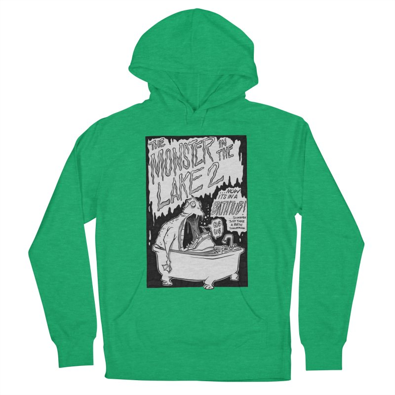 Monster in the Lake 2 Men's Pullover Hoody by westinchurch's Artist Shop