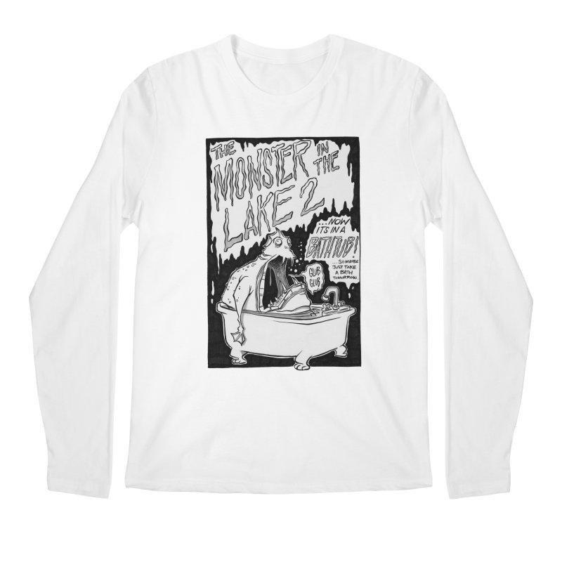 Monster in the Lake 2 Men's Longsleeve T-Shirt by westinchurch's Artist Shop