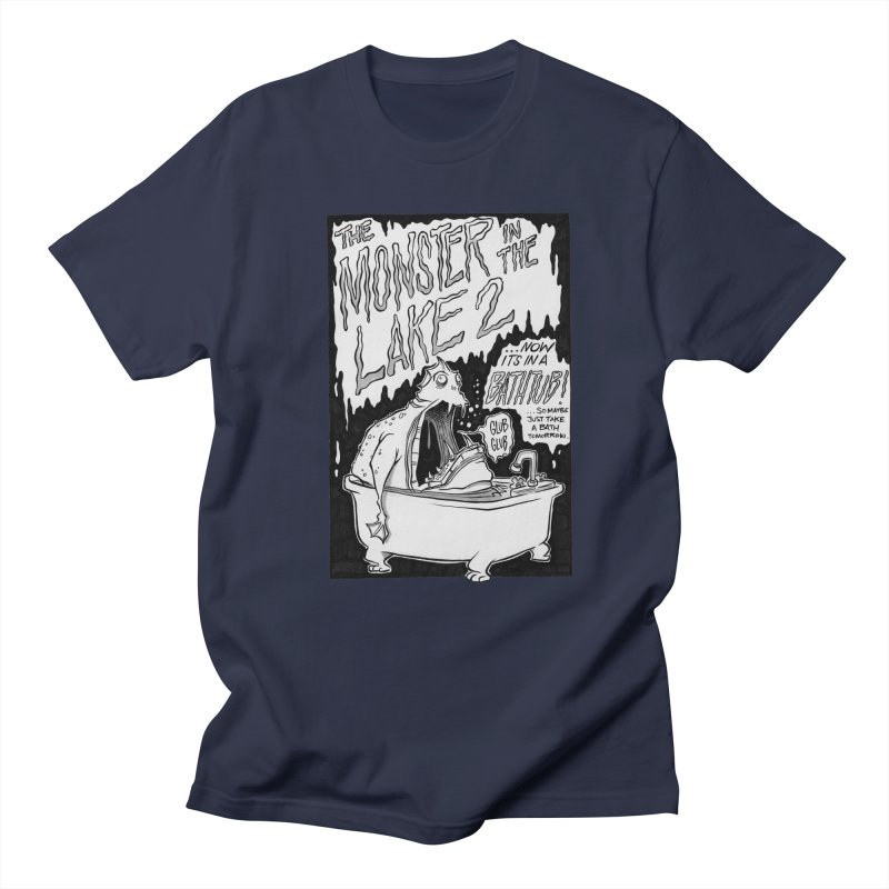 Monster in the Lake 2 Men's T-Shirt by westinchurch's Artist Shop