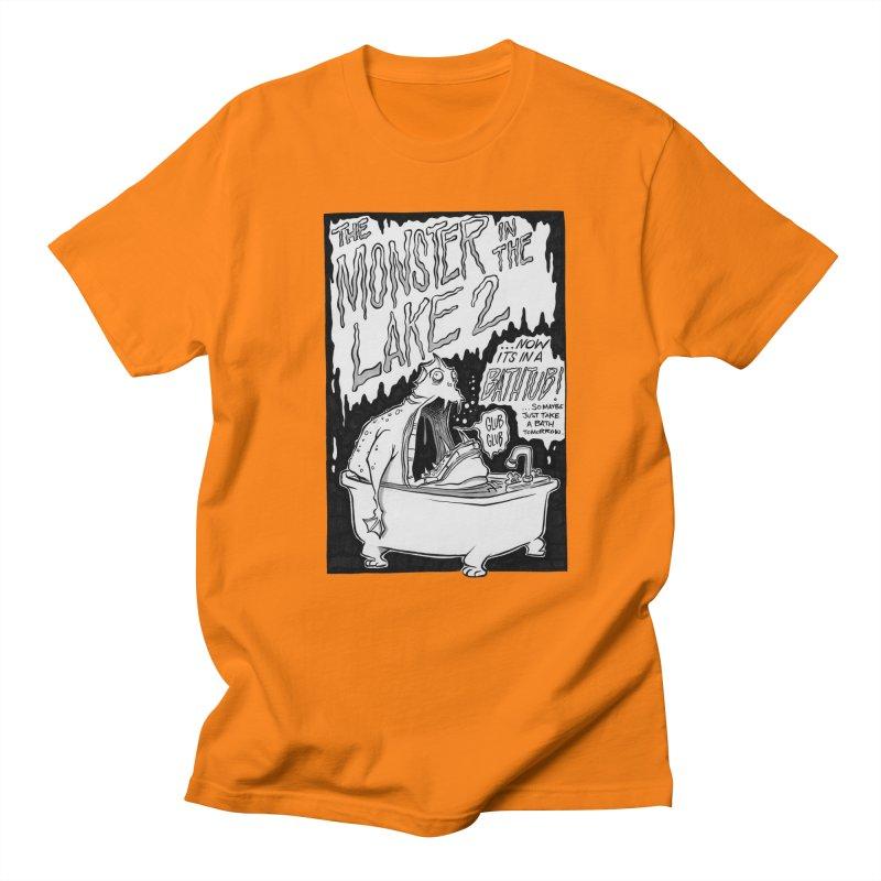 Monster in the Lake 2 Men's T-shirt by westinchurch's Artist Shop