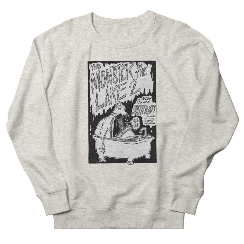 Monster in the Lake 2 Women's Sweatshirt by westinchurch's Artist Shop