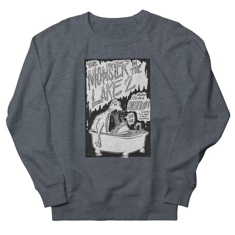 Monster in the Lake 2 Men's Sweatshirt by westinchurch's Artist Shop