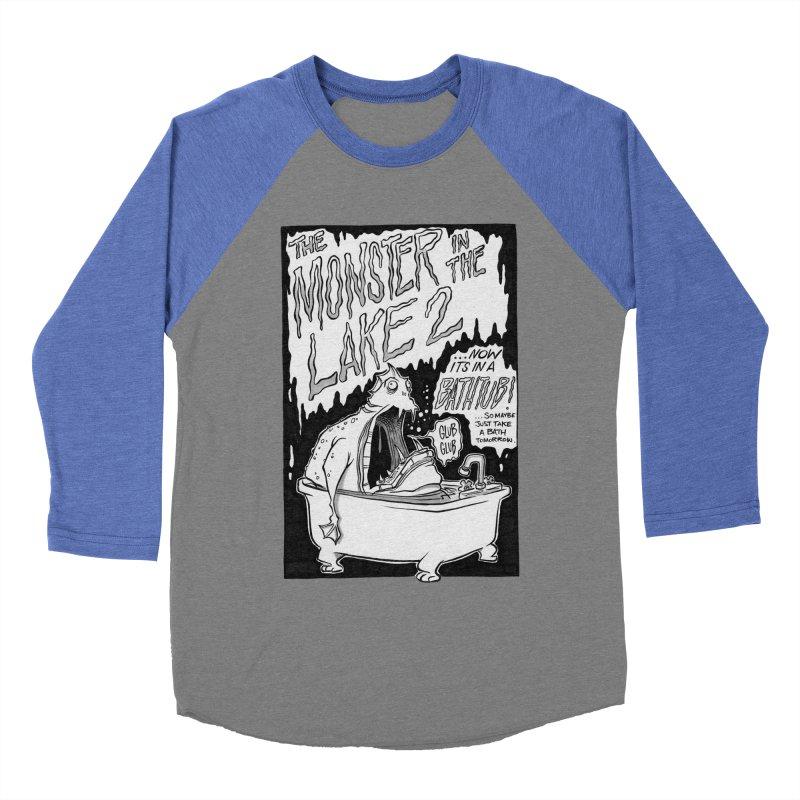 Monster in the Lake 2 Women's Baseball Triblend T-Shirt by westinchurch's Artist Shop