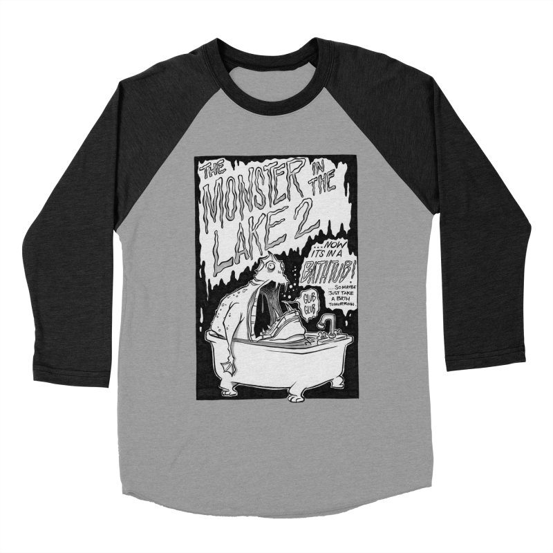 Monster in the Lake 2 Women's Baseball Triblend T-Shirt by westinchurch's Artist Shop