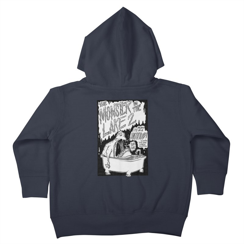 Monster in the Lake 2 Kids Toddler Zip-Up Hoody by westinchurch's Artist Shop