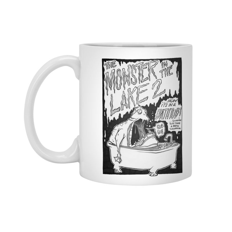 Monster in the Lake 2 Accessories Mug by westinchurch's Artist Shop