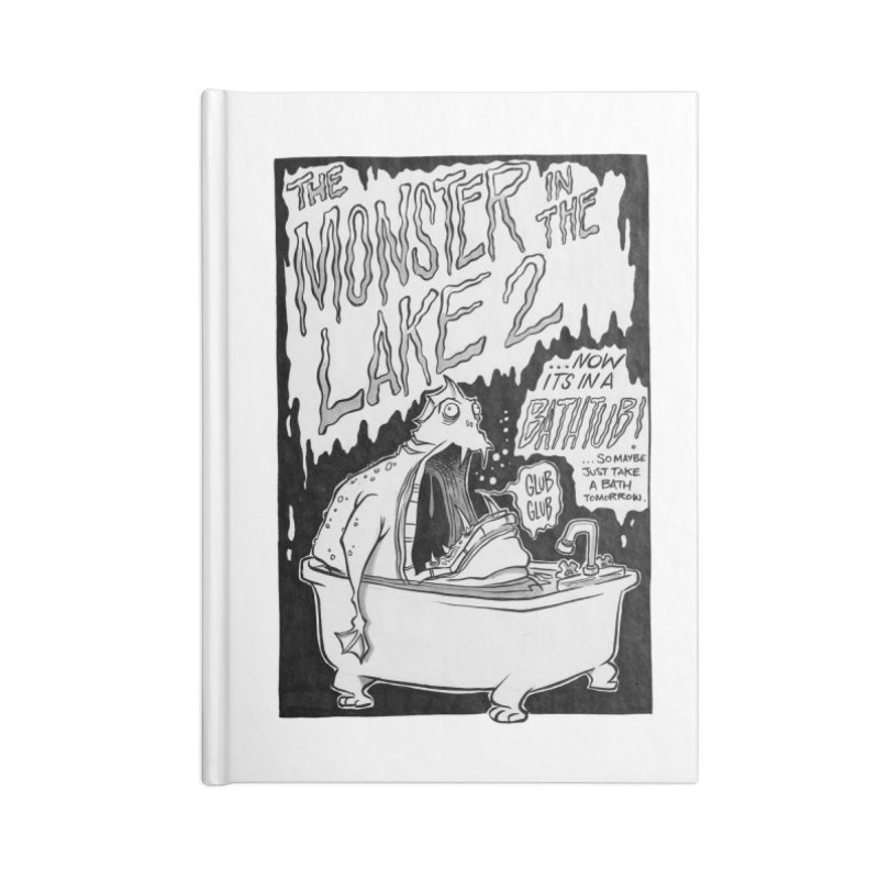 Monster in the Lake 2 Accessories Notebook by westinchurch's Artist Shop