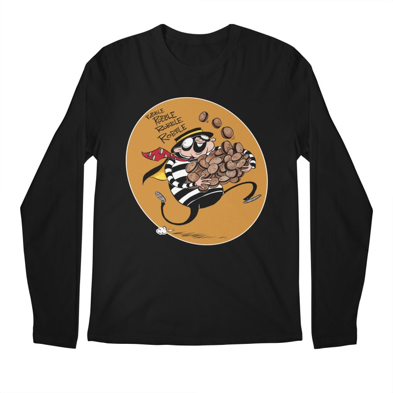 Hamburglar Men's Longsleeve T-Shirt by westinchurch's Artist Shop