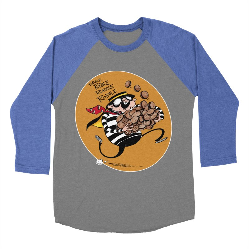 Hamburglar Men's Baseball Triblend T-Shirt by westinchurch's Artist Shop