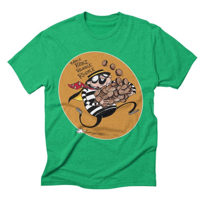 Hamburglar Men's Triblend T-shirt by westinchurch's Artist Shop
