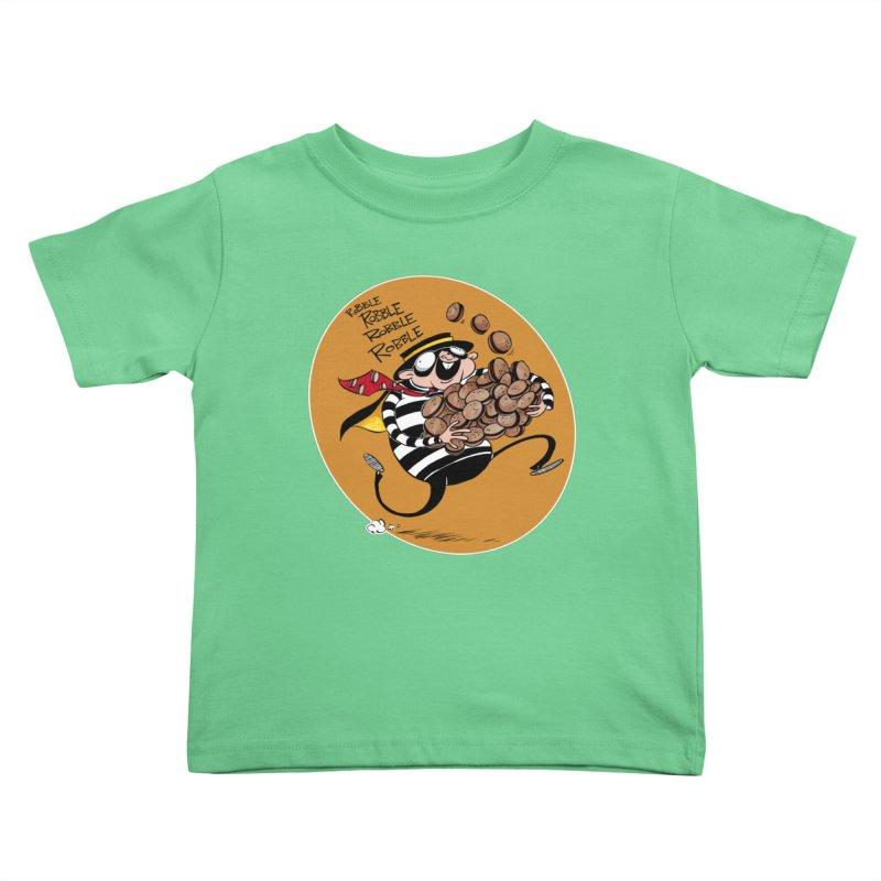 Hamburglar Kids Toddler T-Shirt by westinchurch's Artist Shop