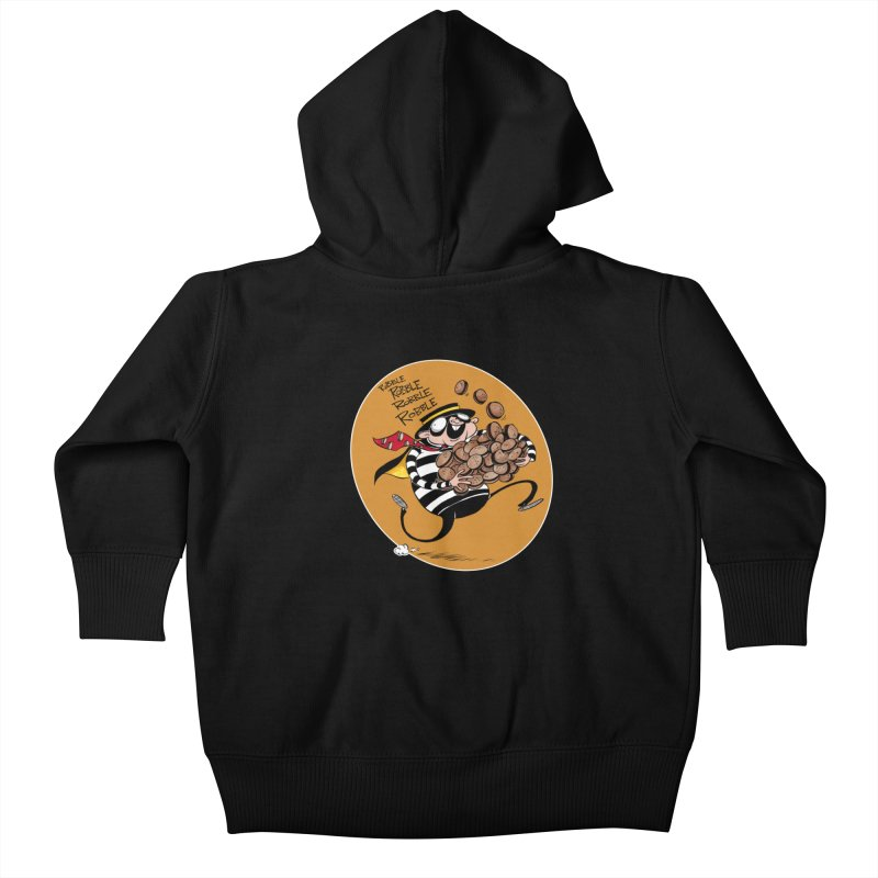 Hamburglar Kids Baby Zip-Up Hoody by westinchurch's Artist Shop