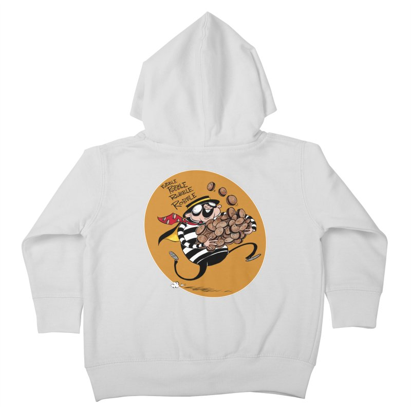 Hamburglar Kids Toddler Zip-Up Hoody by westinchurch's Artist Shop