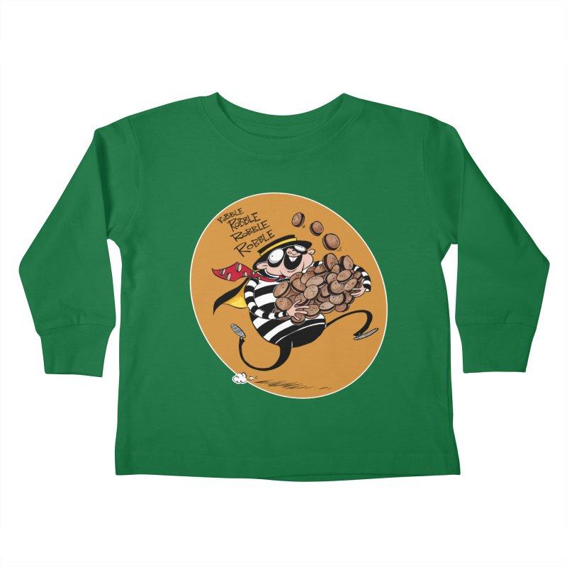 Hamburglar Kids Toddler Longsleeve T-Shirt by westinchurch's Artist Shop