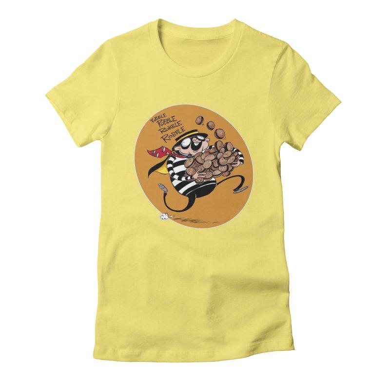 Hamburglar Women's Fitted T-Shirt by westinchurch's Artist Shop