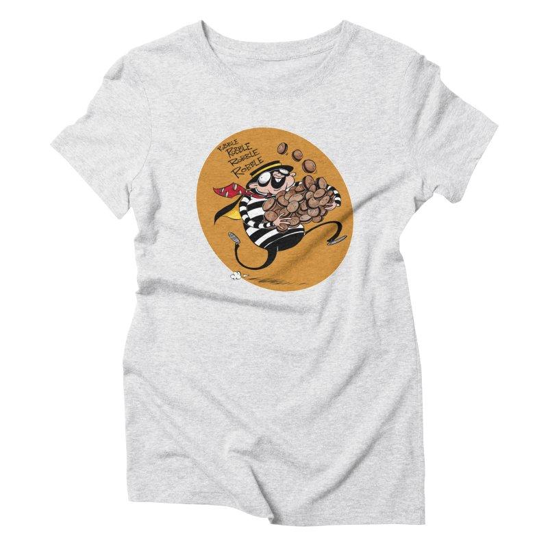 Hamburglar Women's Triblend T-shirt by westinchurch's Artist Shop