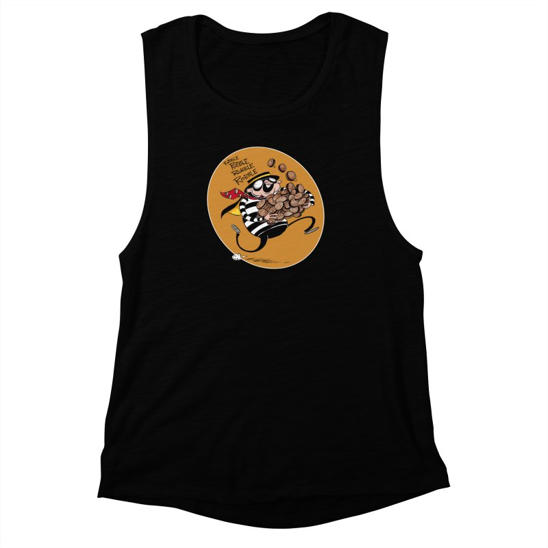 Hamburglar Women's Muscle Tank by westinchurch's Artist Shop