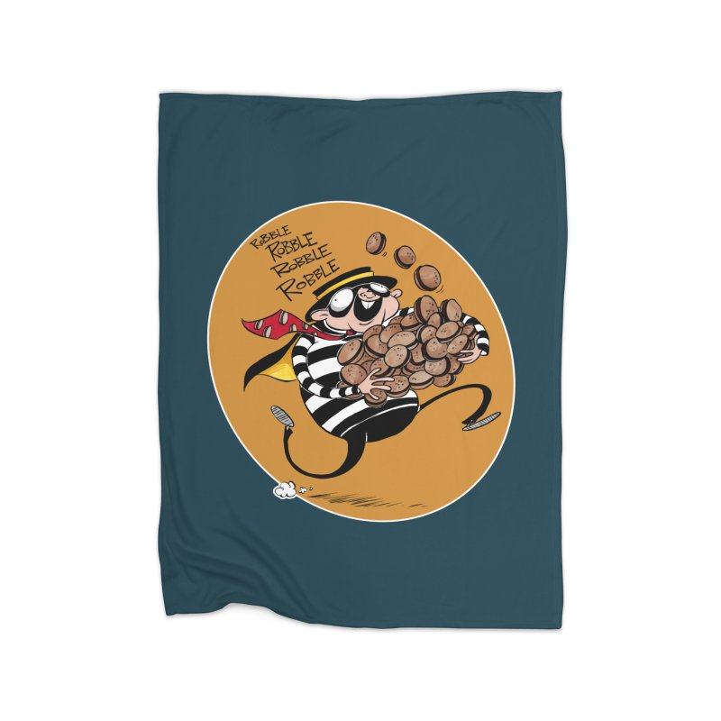Hamburglar Home Blanket by westinchurch's Artist Shop