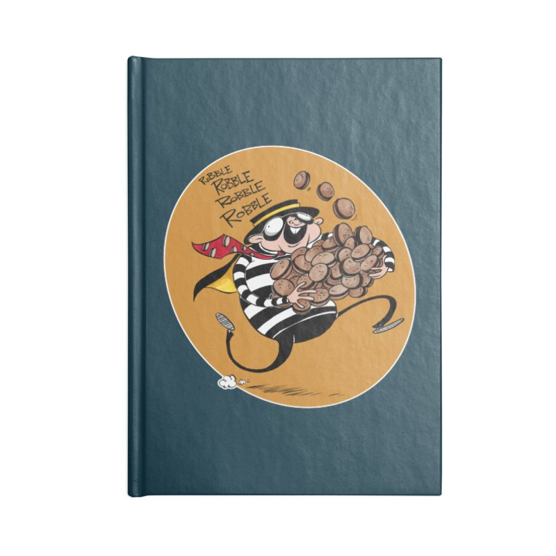 Hamburglar Accessories Notebook by westinchurch's Artist Shop