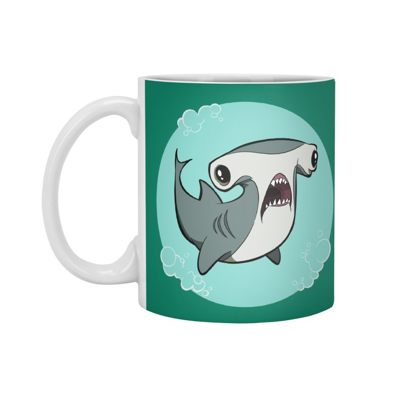 Hammerhead Shark! Accessories Mug by westinchurch's Artist Shop