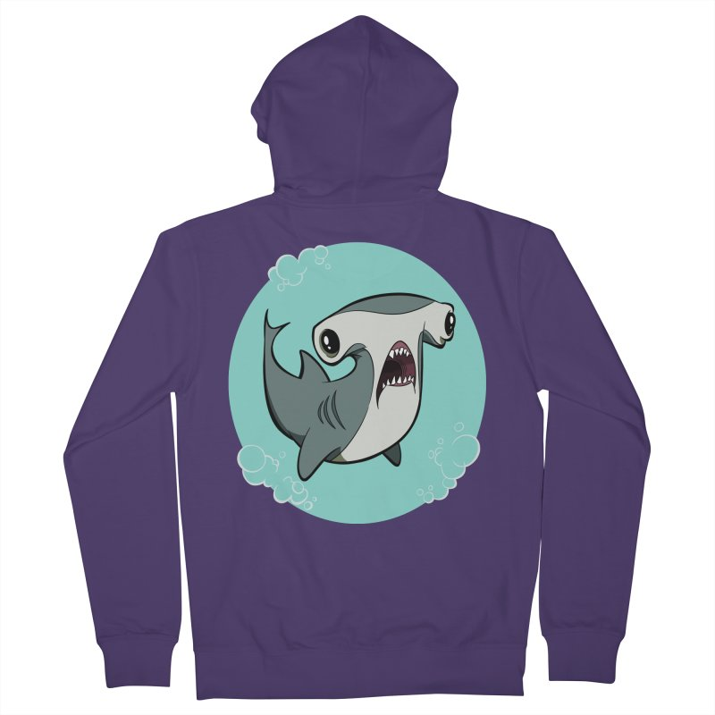 Hammerhead Shark! Women's Zip-Up Hoody by westinchurch's Artist Shop