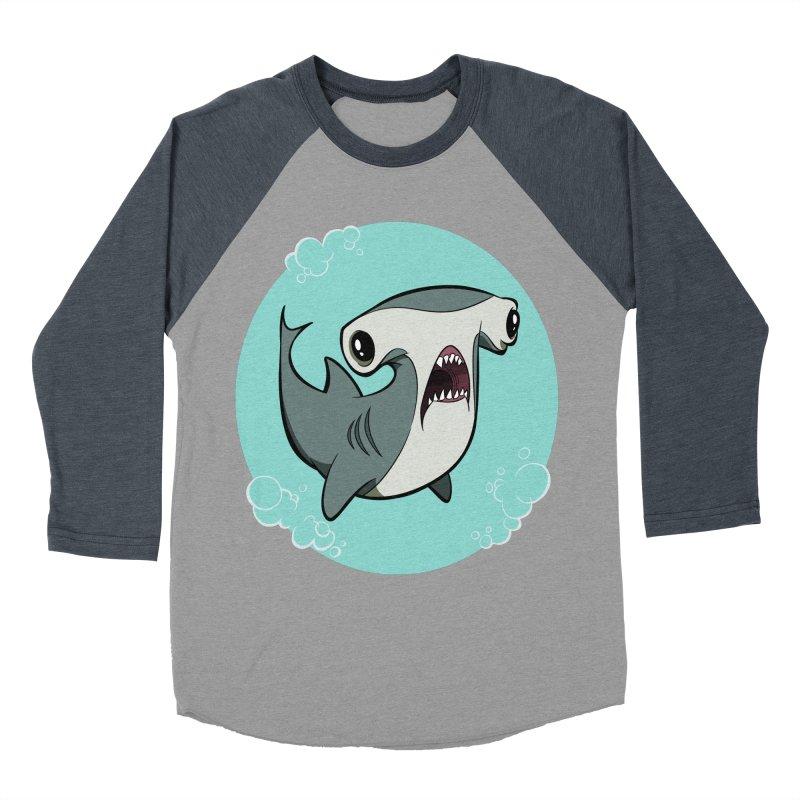 Hammerhead Shark! Women's Baseball Triblend T-Shirt by westinchurch's Artist Shop