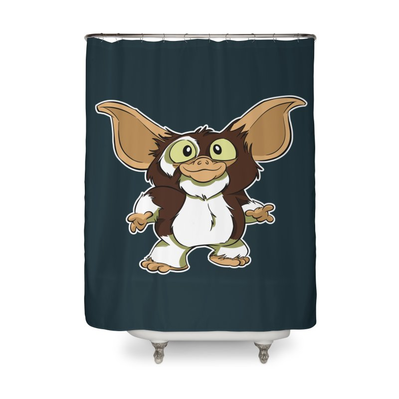 Mogwai Home Shower Curtain by westinchurch's Artist Shop
