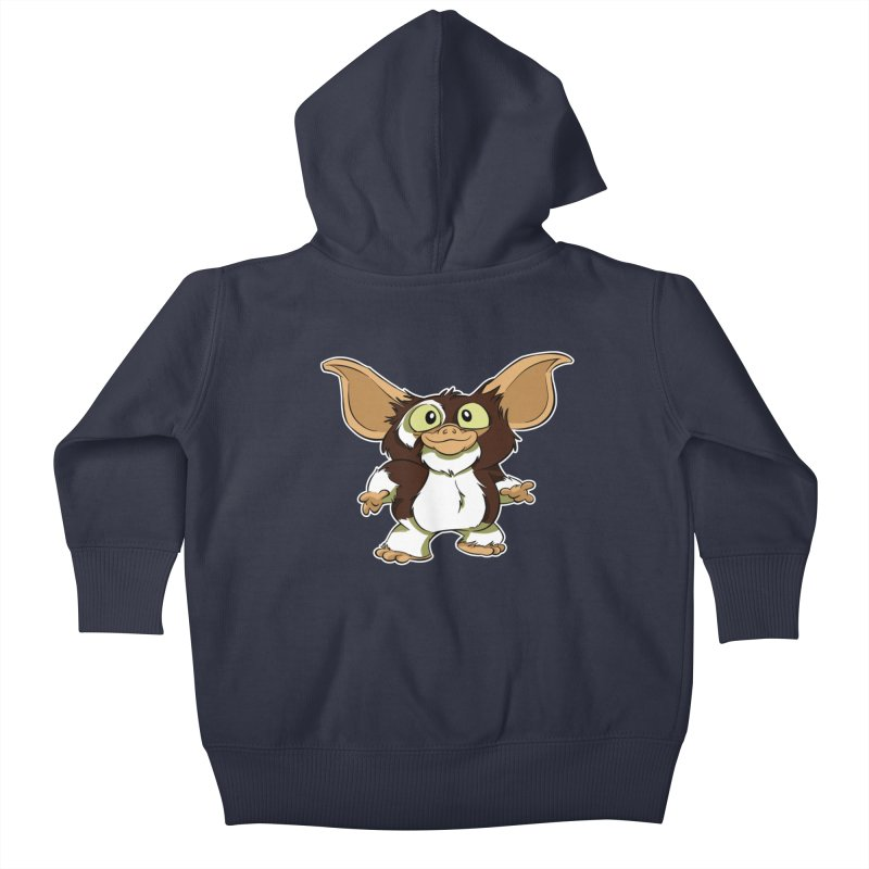 Mogwai Kids Baby Zip-Up Hoody by westinchurch's Artist Shop
