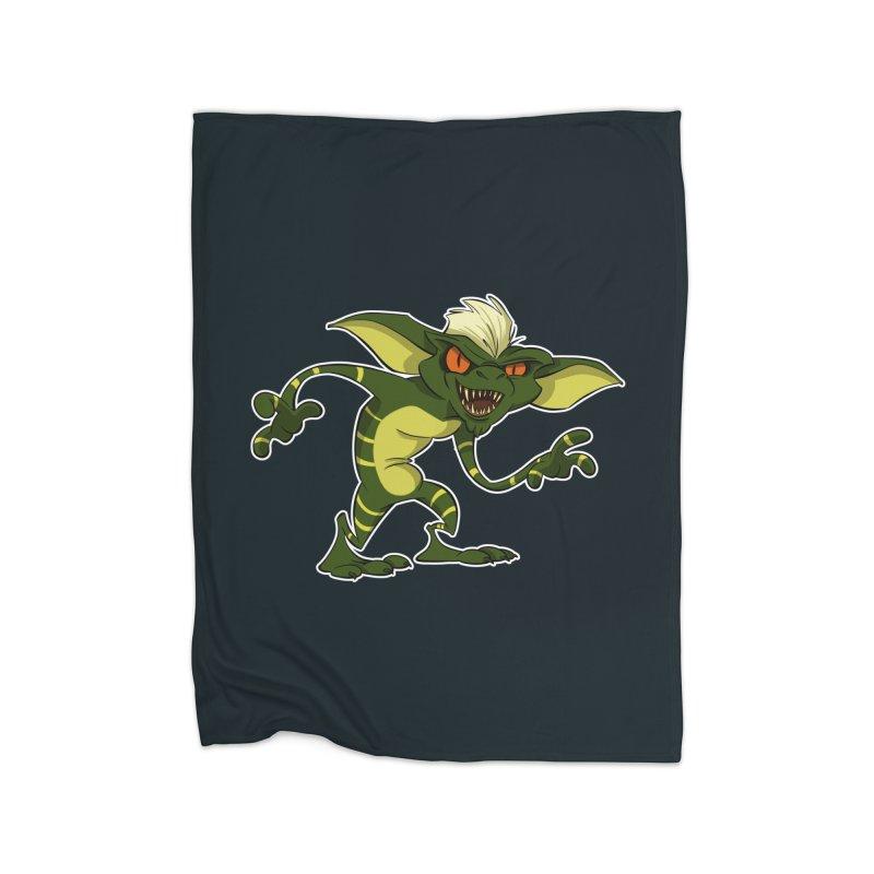 Gremlin! Home Blanket by westinchurch's Artist Shop