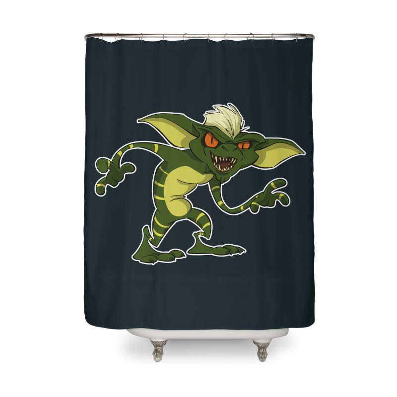 Gremlin! Home Shower Curtain by westinchurch's Artist Shop
