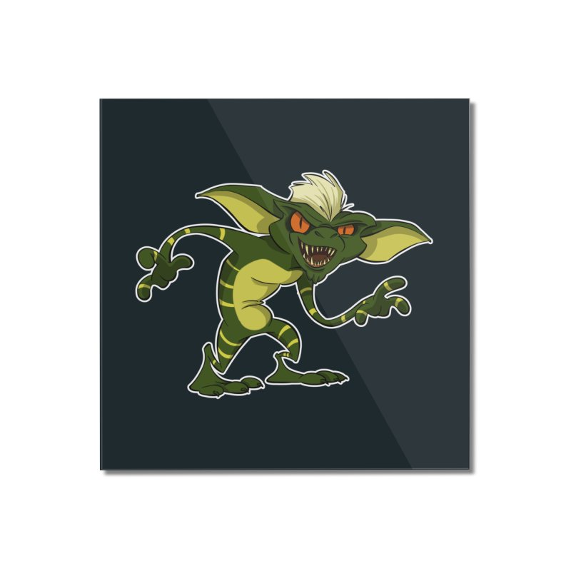 Gremlin! Home Mounted Acrylic Print by westinchurch's Artist Shop