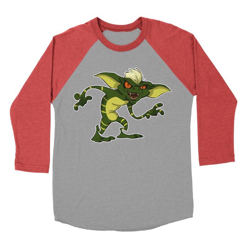 Gremlin! Women's Baseball Triblend T-Shirt by westinchurch's Artist Shop