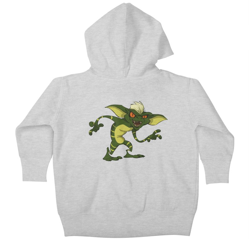 Gremlin! Kids Baby Zip-Up Hoody by westinchurch's Artist Shop