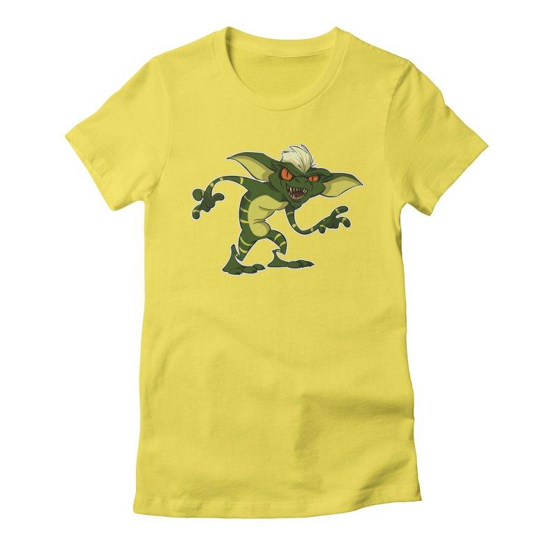 Gremlin! Women's Fitted T-Shirt by westinchurch's Artist Shop