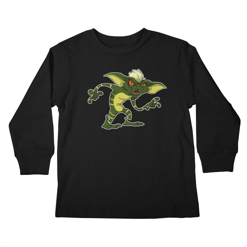Gremlin! Kids Longsleeve T-Shirt by westinchurch's Artist Shop