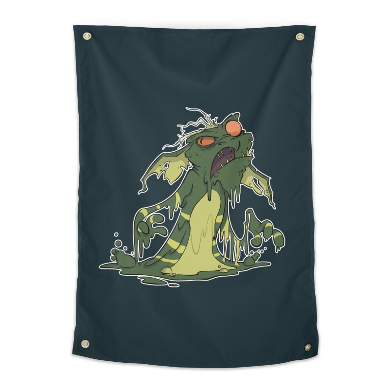 Gremlin Melting Home Tapestry by westinchurch's Artist Shop
