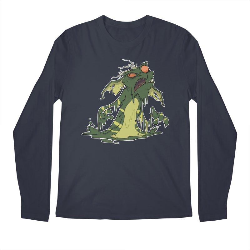 Gremlin Melting Men's Longsleeve T-Shirt by westinchurch's Artist Shop