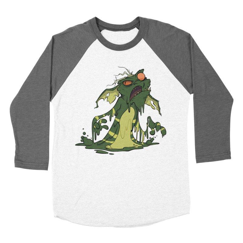 Gremlin Melting Women's Baseball Triblend T-Shirt by westinchurch's Artist Shop