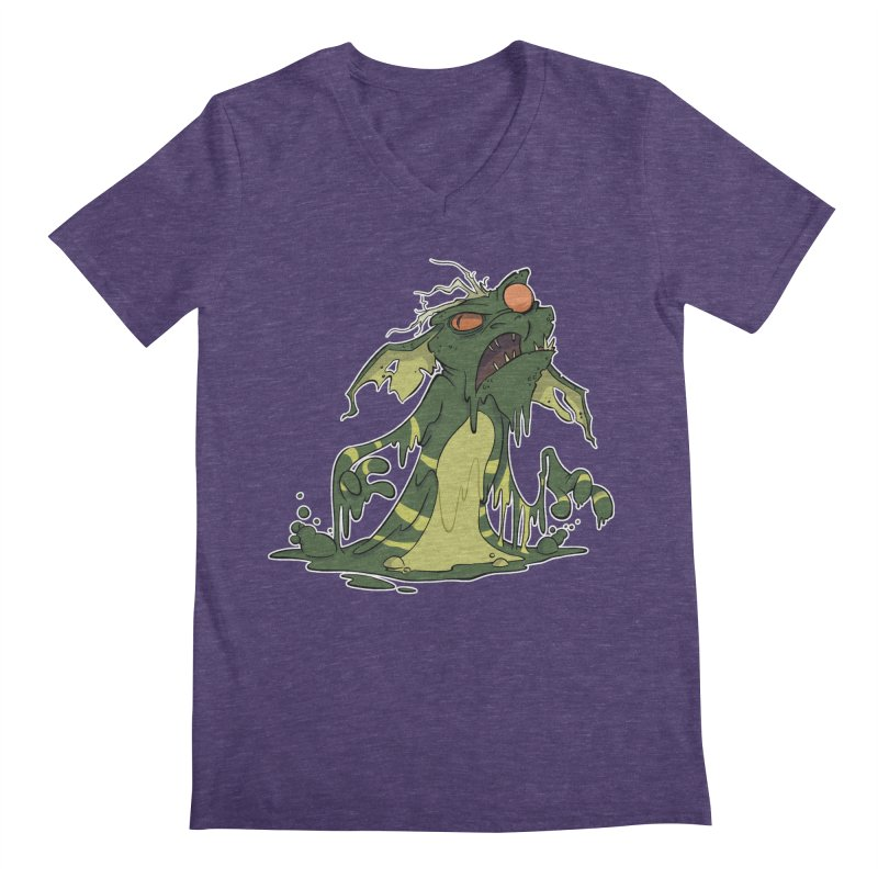 Gremlin Melting Men's V-Neck by westinchurch's Artist Shop