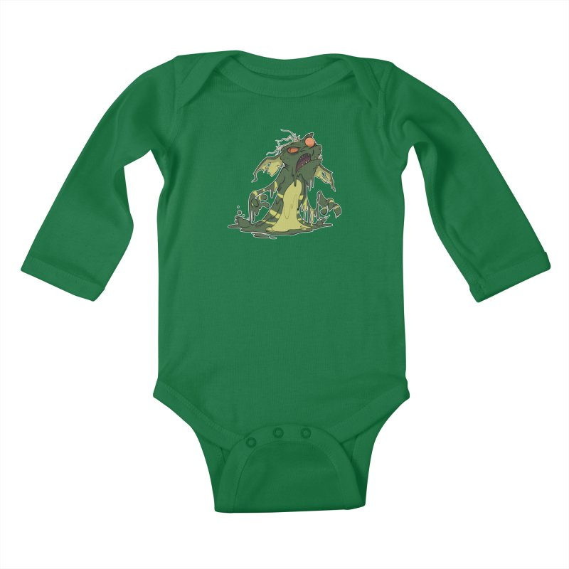 Gremlin Melting Kids Baby Longsleeve Bodysuit by westinchurch's Artist Shop