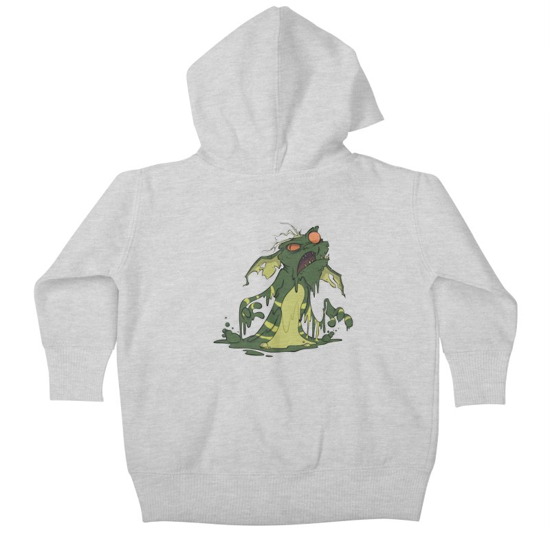 Gremlin Melting Kids Baby Zip-Up Hoody by westinchurch's Artist Shop