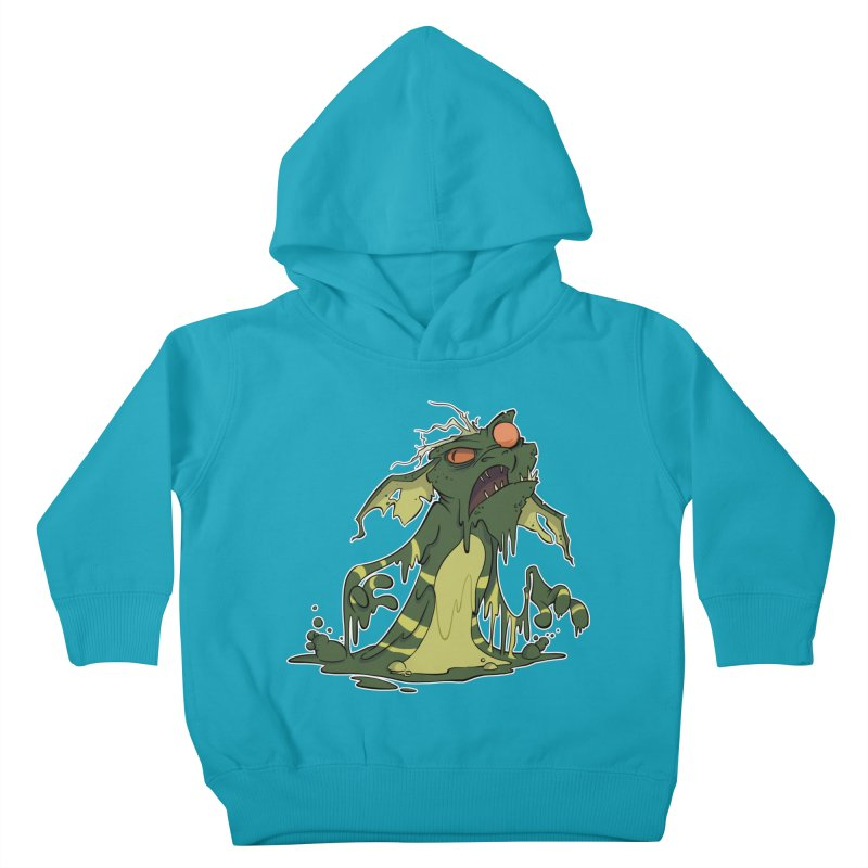 Gremlin Melting Kids Toddler Pullover Hoody by westinchurch's Artist Shop