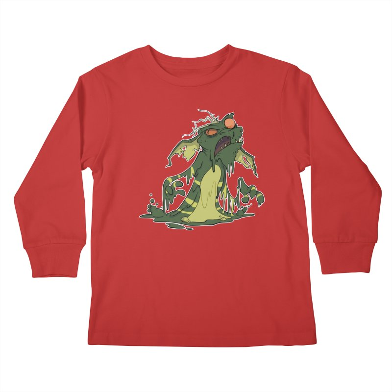 Gremlin Melting Kids Longsleeve T-Shirt by westinchurch's Artist Shop