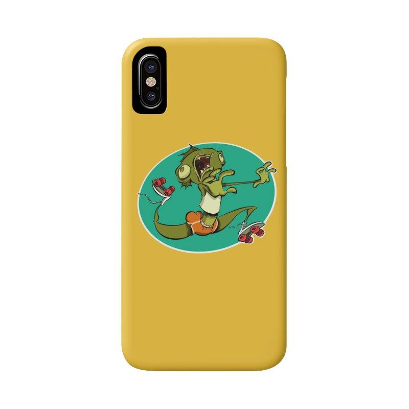 Rollerskating Fish Man! Accessories Phone Case by westinchurch's Artist Shop