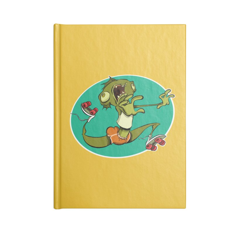 Rollerskating Fish Man! Accessories Notebook by westinchurch's Artist Shop