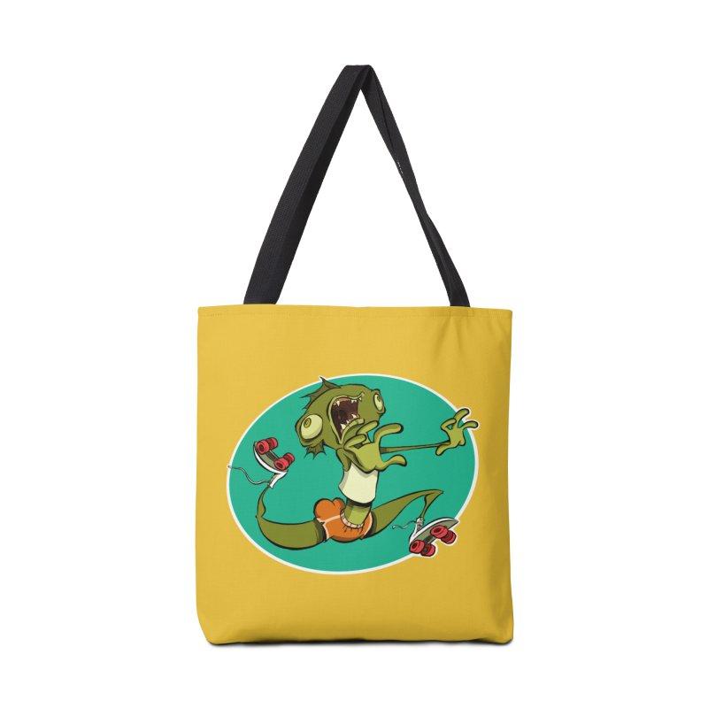 Rollerskating Fish Man! Accessories Bag by westinchurch's Artist Shop