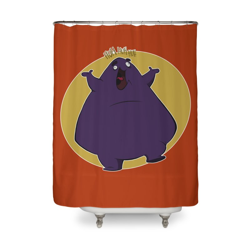 Grimace Home Shower Curtain by westinchurch's Artist Shop