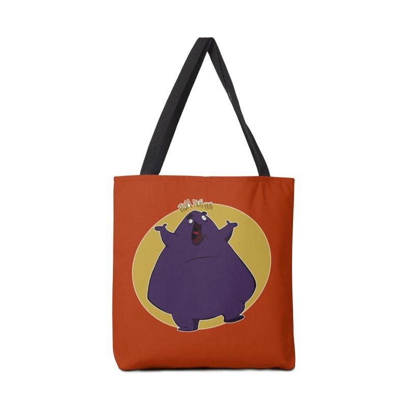 Grimace Accessories Bag by westinchurch's Artist Shop